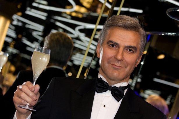 Podobizna George'a Clooney'a z czeskiego muzeum figur woskowych w Pradze. Zdjęcie: Shutterstock.com