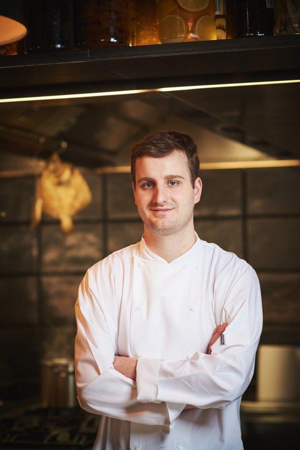 Michał Gniadek, szef kuchni restauracji Klonn. Zdjęcie: materiały prasowe