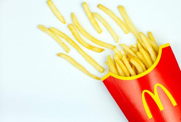 Frytki z McDonald's. Zdjęcie: Shutterstock.com