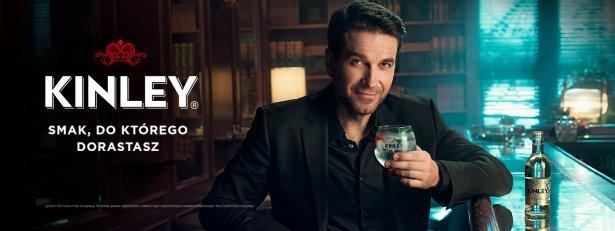 Marcin Dorociński w kampanii reklamowej marki Kinley. Zdjęcie: materiały prasowe