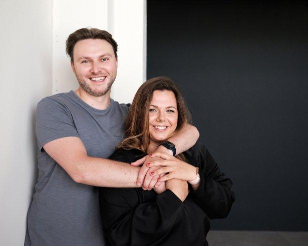 Magda Butkiewicz-Dudzińska i Norbert Dudziński, właściciele i twórcy Lalou. Zdjęcie: Bartek Warzecha