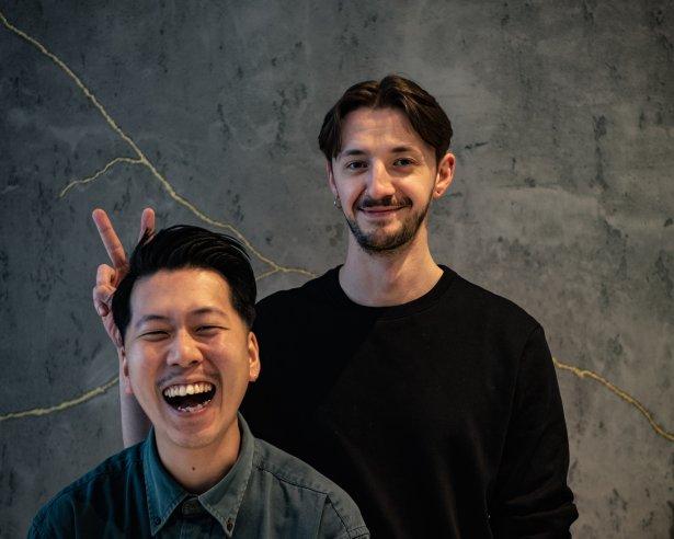 Happa to Mame, czyli polsko-japoński duet z Poznania – Shota Nakayama i Marcin Cieśluk. Zdjęcie: materiały prasowe