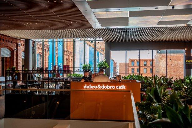 Dobro&Dobro Cafe w łódzkiej Manufakturze. Zdjęcie: materiały prasowe