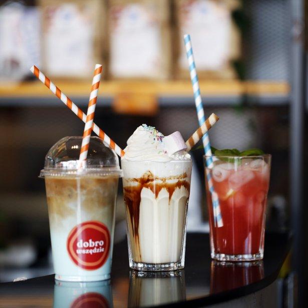 Oferta Dobro&Dobro Cafe w łódzkiej Manufakturze. Zdjęcie: materiały prasowe