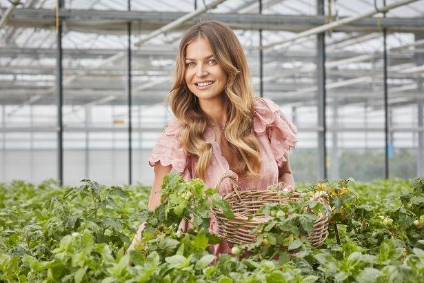 Anna Lewandowska stawia na własną uprawę ziół. Zdjęcie: materiały prasowe