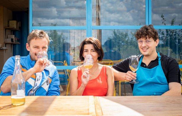 Marcin Wiechowski, Magda Klimczak i Krzysztof Łapawa. Fot. Magda Klimczak