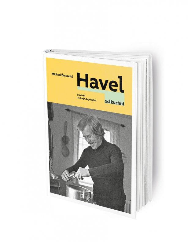 """Książka \""""Havel od kuchni"""" Michael Žantovski. Fot. materiały prasowe"""