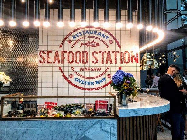 Seafood Station Restaurant & Oyster Bar w Warszawie. Zdjęcie: Monika Jankowska-Kapica