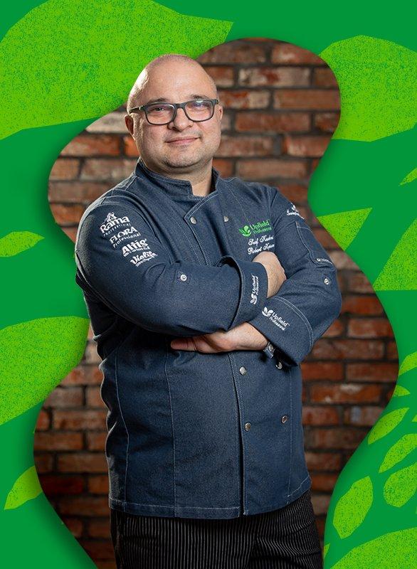 Robert Kopacz, szef kuchni Upfield Professional Polska. Zdjęcie: materiały prasowe