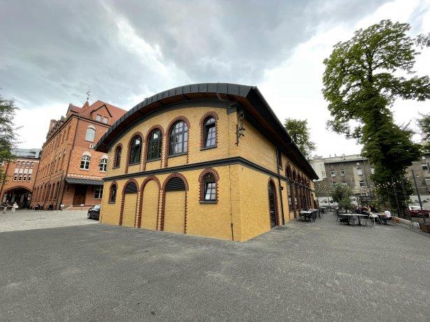 Sushiya w Gliwicach zlokalizowana będzie w zabytkowym budynku dawnej giełdy zbożowej przy Dolnych Wałów. Zdjęcie: materiały prasowe
