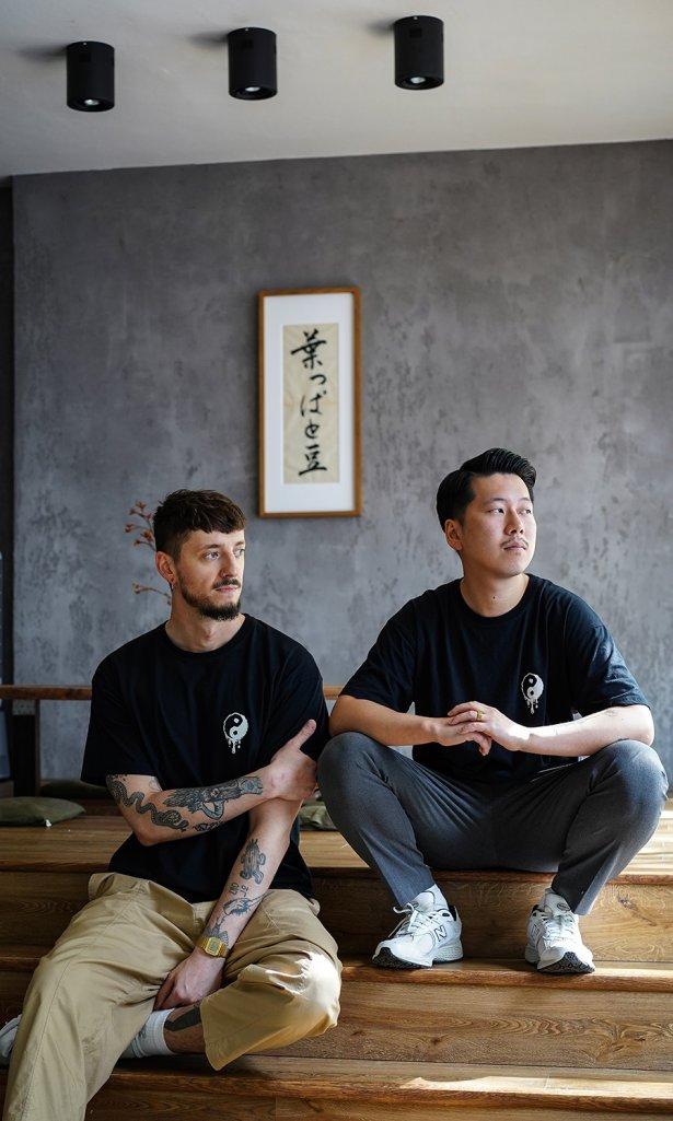 Właściciele Happa to Mame: Marcin Cieśluk i Shota Nakayama. Fot. Tytus Gustaw Groźny