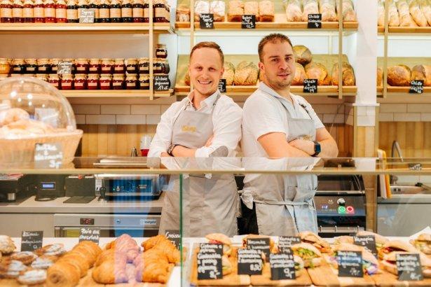 Bartek  Rychcik i Michał Paleta,  autorzy sukcesu brandu Bakery. Zdjęcie: materiały prasowe
